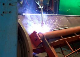 Robotic welding services - Basong Engineering